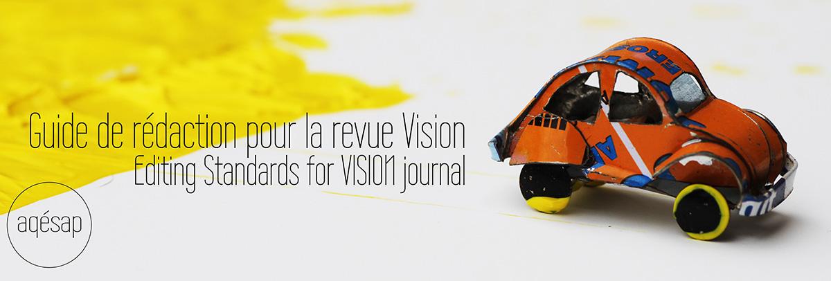 Revue Vision bannière soumission article