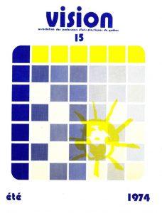 thumbnail of Vision_No 15 été 1974