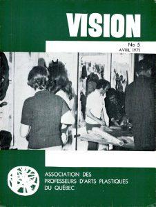 thumbnail of Vision_No 5 avril 1971