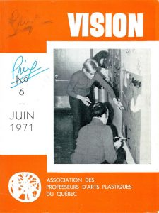 thumbnail of Vision_No 6 juin 1971